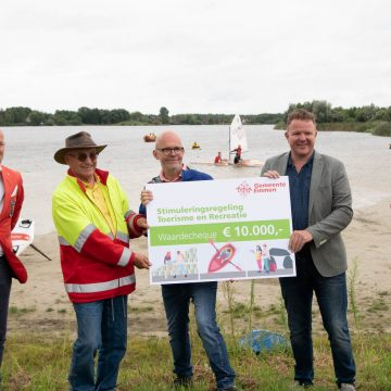 ©wiebe veenstra Opening watersporthotspot Rietlanden 28-08-2021 voor eigen FB-27